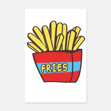 Frites Frites - Poster