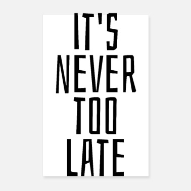 Never Sleep It's never too late - Poster