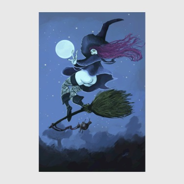 Fly witch fly - Poster 8 x 12