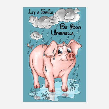 Weather Pigs Weather - Poster EN - Poster