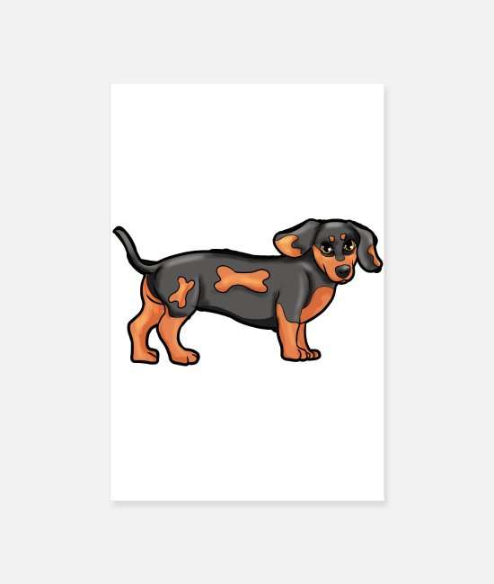Dog Owner Posters - Dachshund Dog Dog Owners Animal Love Animal Shelter Gesch - Posters white