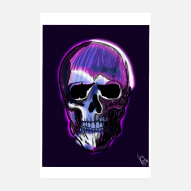 Occupy Happy J's Skull Head - Poster 8 x 12