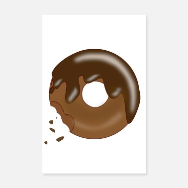 Happiness donut - Poster 20x30 cm
