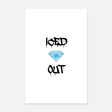 Culture iced out - Poster 8 x 12