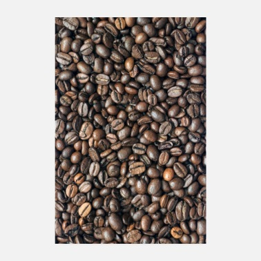 Roasted coffee beans - Poster 8 x 12