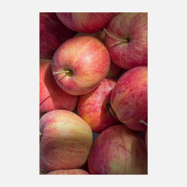Several red apples - Poster 8 x 12