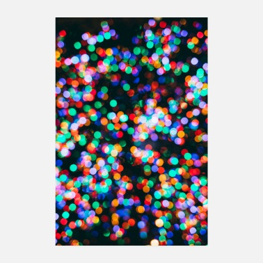 Colourful Colourful lights - Poster