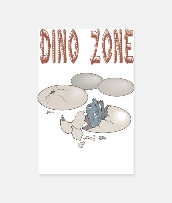 Stegosaurus Posters - Dino Zone - Posters wit