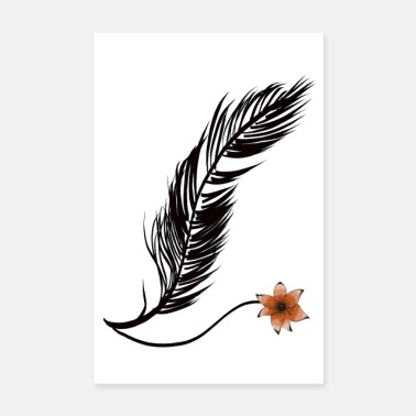 Feather feather - Poster