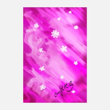 sea of flowers - Poster