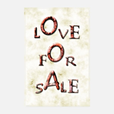Sale Love for sale! - Poster