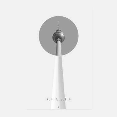 Television Berlin - The TV Tower - Poster