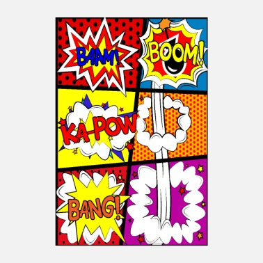 Comic Style Comic strip comic strip cartoon - Poster
