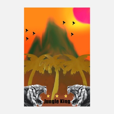 Junglecontest jungle conte posters - Poster