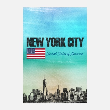 United States New York City - Poster
