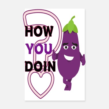 Computer Science How you doin funny eggplant funny eggplant - Poster