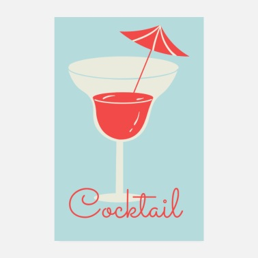 Souvenir Cocktail - Poster
