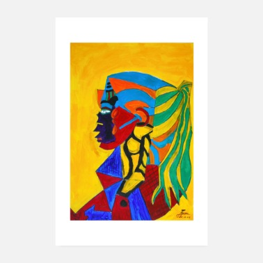 Sioux Indian woman | 2002 - Poster