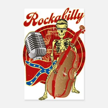 Basser Rockabilly Bass - Poster