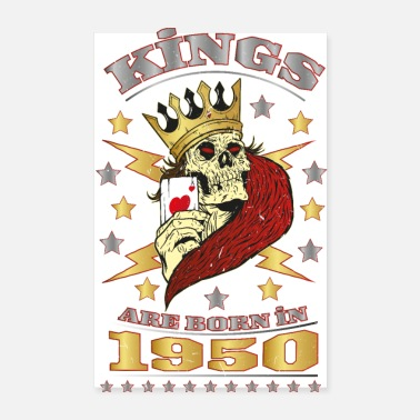 1950 Kings are Born in 1950 - Poster