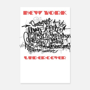 Old School New York - Juliste