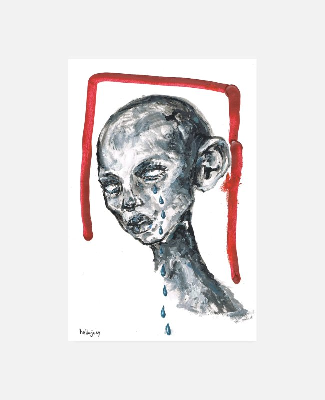 Art Posters - Morbid - Posters white