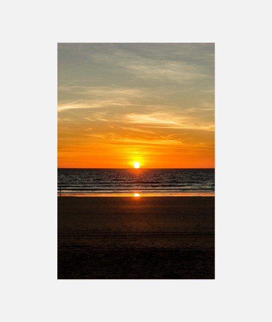 Nature Posters - Cable Beach - Broome, Australie - Posters blanc