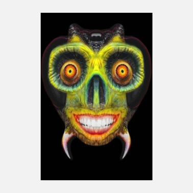 Undead Freaky Bug Face - Poster