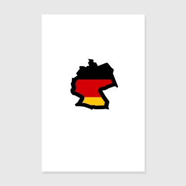 Germany Germany - Poster 8 x 12