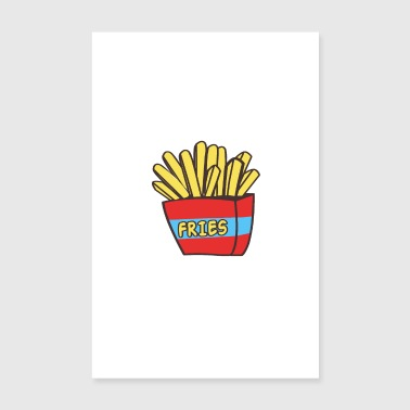 Patatine fritte - Poster 20x30 cm