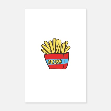 Court French fries - Poster 8 x 12