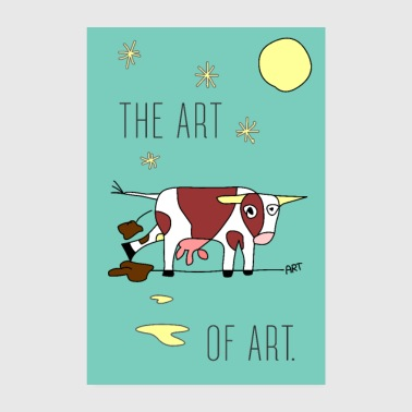 the ART of ART - Poster 20x30 cm