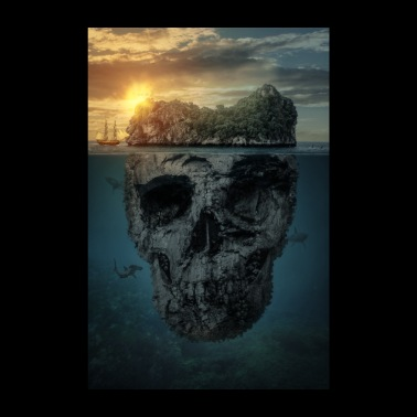 The death island - Poster 8 x 12