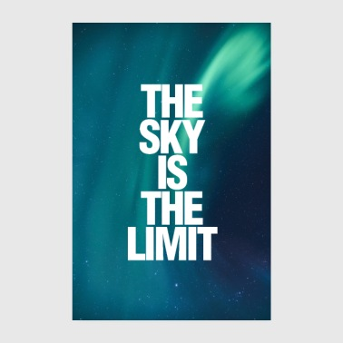 Il poster di Sky Is The Limit - Poster 20x30 cm