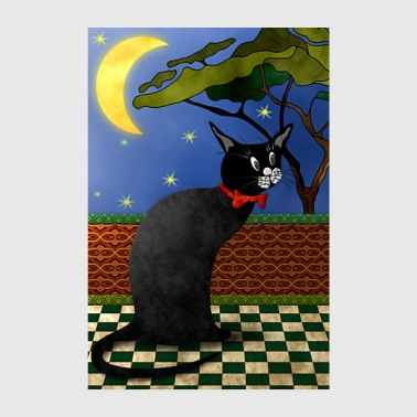 chat - Poster 20 x 30 cm