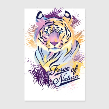 FORCE OF NATURE Tee Shirts - Poster 20 x 30 cm