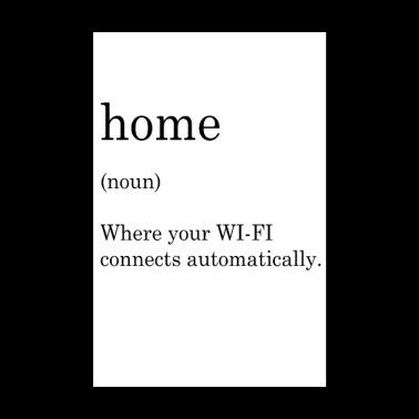 home wifi - Poster 8 x 12