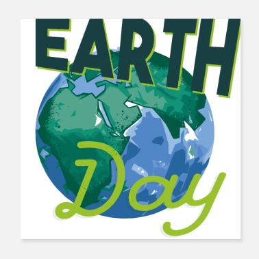 Nature Conservation Earth Day nature conservation nature climate animal protection - Poster