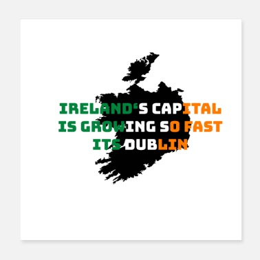 Dublin Irlande Dublin Capital Don - Poster