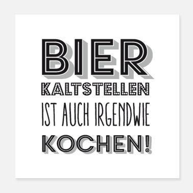 suchbegriff 39 koch 39 poster online bestellen spreadshirt. Black Bedroom Furniture Sets. Home Design Ideas