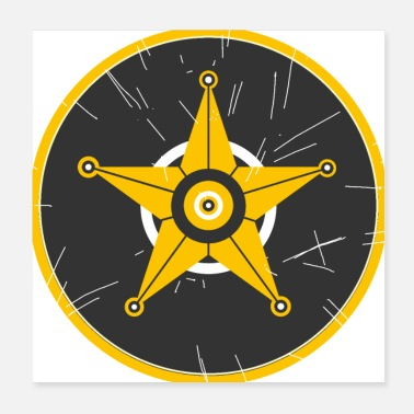 Screwdriver Sheriff rim - Poster