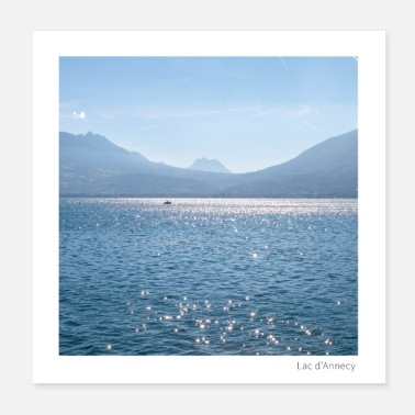Lake Annecy - Poster