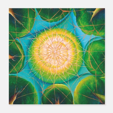 Nature Collection SoulArt Mandala Nature Bonding - Poster
