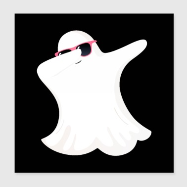 Dabbing Ghost - Dab Dance - Poster 20 x 20 cm