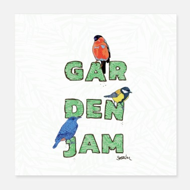 Fauna GardenJamSession - Poster - Poster