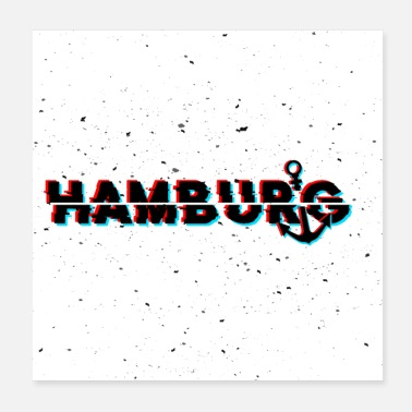 Glitch Hamburg Glitch - Poster