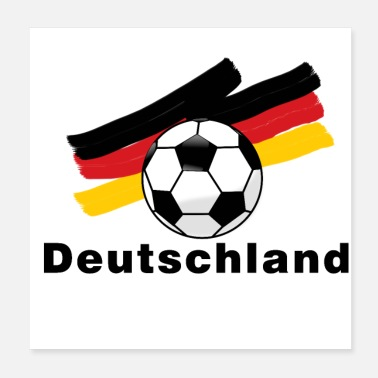 Football Team Germany football - Poster 20x20 cm