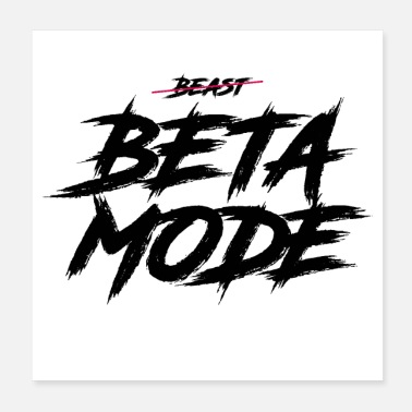 Mode BETA MODE - Poster 20x20 cm
