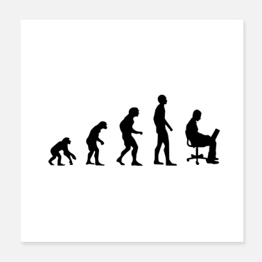 Pc Office Evolution - Poster
