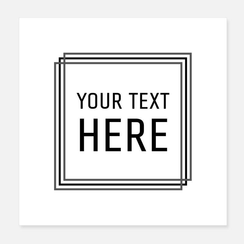 Plakaty Z Motywem Teksty Piosenek Zamów Online Spreadshirt